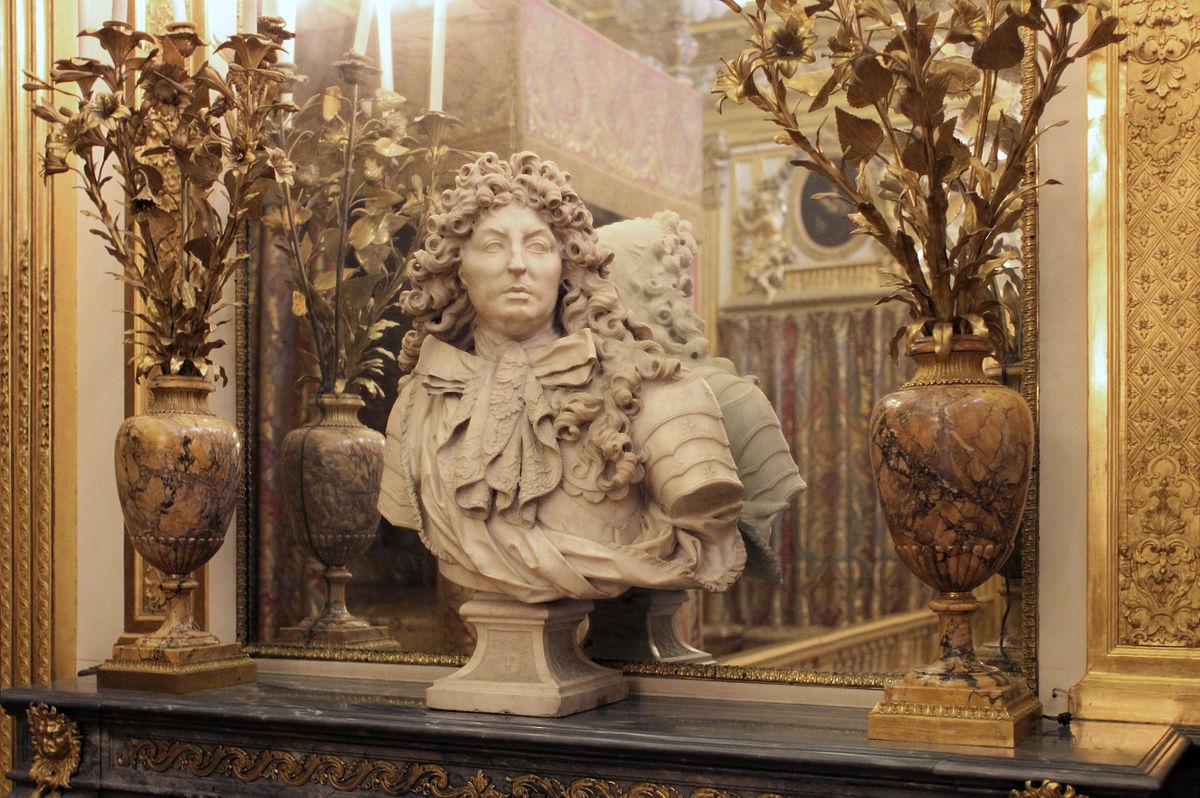 File:Château de Versailles, chambre du roi, buste de Louis XIV, Antoine  Coysevox, ca 1679 01.jpg - Wikimedia Commons