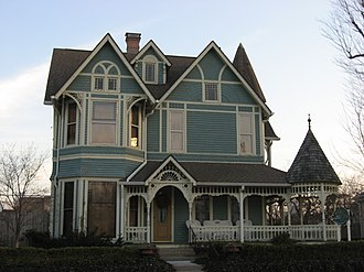 National Register of Historic Places listings in Hancock County, Indiana - Image: Charles Barr House