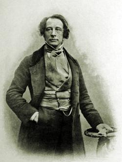 Charles Dickens, daguerréotype de 1852
