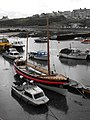 Charles Henry Ashley lifeboat at Cemaes Harbour - geograph.org.uk - 1437384.jpg