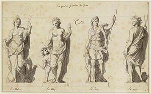 Grande Commande - Image: Charles Le Brun Grande Commande Les Quatre parties du jour