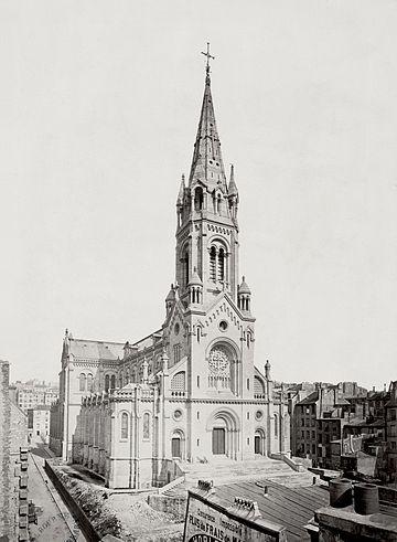 Église Notre-Dame-de-la-Croix de Ménilmontant