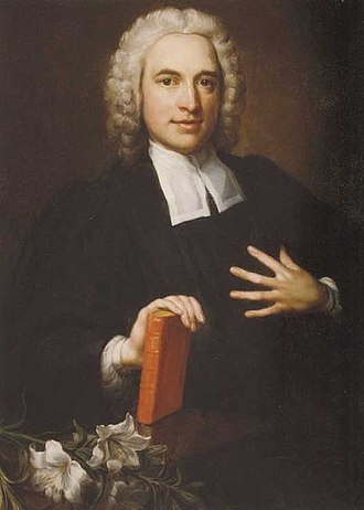 Charles Wesley - Early portrait of Wesley