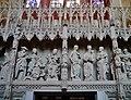 Chartres Cathédrale Notre-Dame de Chartres Innen Chorschranke 05.jpg