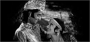 Charu Roy, and Seeta Devi in the 1929 film, Pr...