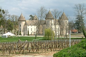 Jules Guyot -  Le Château Savigny-lès-Beaune, where Jules Guyot died in 1872