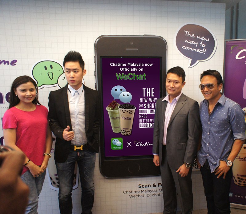 Chatime and WeChat