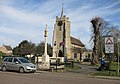 Chatteris church and war memorial (geograph 4387232).jpg