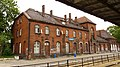 Chełmża - widok dawniej tętniącego życiem dworca kolejowego. - panoramio.jpg