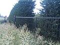 Chemin numéro 13 à Rocourt clôturé.jpg