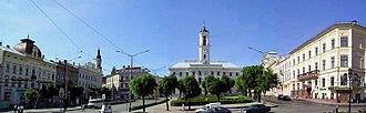 Chernivtsi - Central Square of Chernivtsi