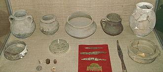 Chernyakhov culture - Finds from the Budeşti Necropolis in Raionul Criuleni, Moldova, 3rd/4th centuries.