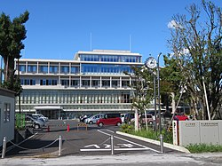 Chichibu City Hall (Main Government building)・The Prince Chichibu Memorial Civic Center 1.jpg