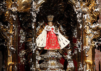 Infant Jesus of Prague - Image: Child Jesus of Prague (original statue)