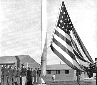 Childress Army Airfield - Image: Childress Army Airfield Dedication Ceremony