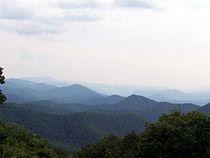 Chimney Rock Mountain Overlook