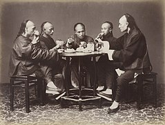 Chinese Meal by Lai Afong, c1880.JPG