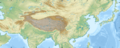 Chinese history large - 51E146W, 14N52N-color topography & borders.png