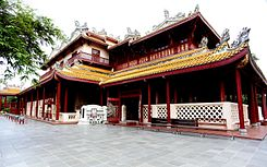 Chinese style palace in Bang Pa In Palace.JPG
