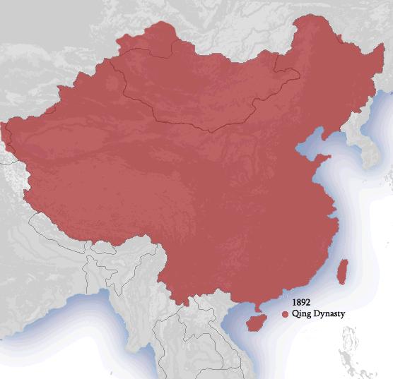 Ching Dynasty 1892