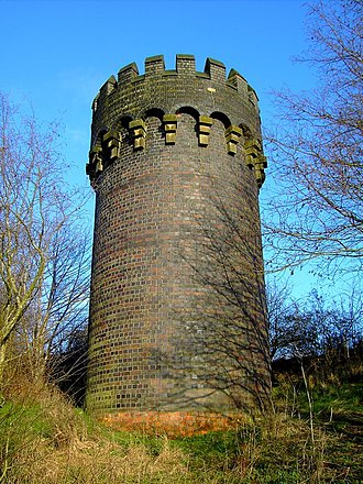 Chipping Sodbury Tunnel - Ventilation shaft near Badminton