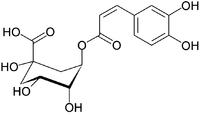 クロロゲン酸の構造式