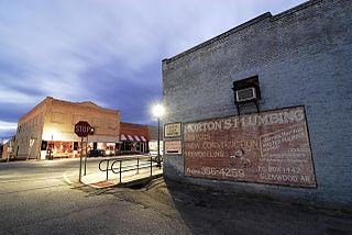 Glenwood, Arkansas City in Arkansas, United States