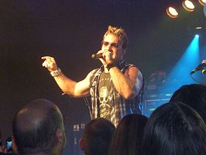 Fozzy - Chris Jericho live with Fozzy at the Kleine Klub (Saarbrücken)