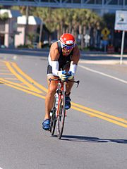 Chris McDonald beim Ironman Florida (2010)