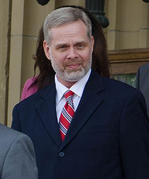 Chris Nielsen (politician) - Nielsen in May 2015
