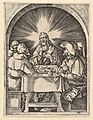 Christ at Emmaus, after Dürer MET DP820336.jpg