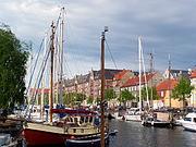 Christianshavns Kanal boats