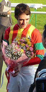 Christophe Soumillon Belgian Thoroughbred horse racing jockey