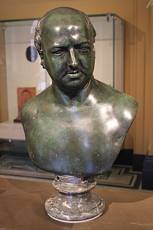 Sir Thomas Gascoigne, 8th Baronet - Bust of Sir Thomas Gascoigne, 8th Baronet, by Christopher Hewetson at the Victoria and Albert Museum, London.