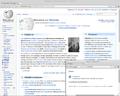 Chromium 39 page d'accueil Wikipédia.png
