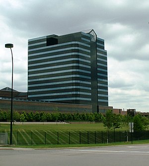 Chrysler - FCA US LLC U.S. Headquarters and Technology Center in Auburn Hills in Metro Detroit