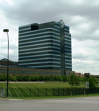 Chrysler - FCA US LLC Headquarters and Technology Center in Auburn Hills, Michigan