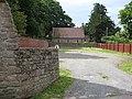 Church car park, Huntington Lane - geograph.org.uk - 904525.jpg
