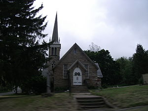 A church in Hamburg, New Jersey