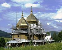 Church of St. Michael (Smozhe) 1874 (wood)..JPG