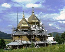 Church of St. Michael (Smozhe) 1874 (wood)..JPG