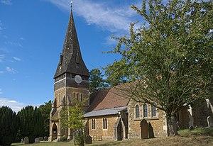 Grade II* listed buildings in Berkshire - Image: Church of St michael Sandhurst