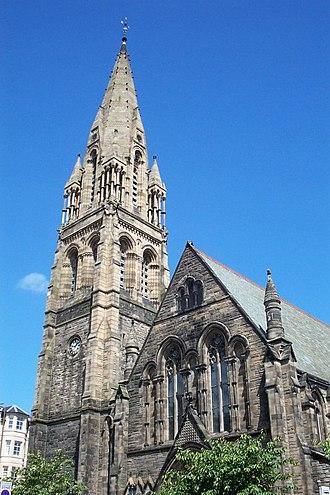 Hippolyte Blanc - Mayfield Free Church (1876-79), now Mayfield Salisbury Church