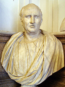 Mid-1st Century AD bust of Cicero in the Capitoline Museums