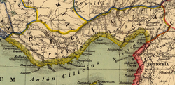 Cilicia Map by Heinrich Kiepert.png