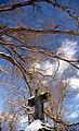 "Cincinnati - Spring Grove Cemetery & Arboretum ""Cross & Snow-Capped Branches"" (5551936200).jpg"