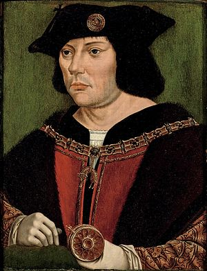 William de Croÿ - Portrait of William, circle of Quentin Matsys