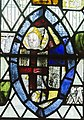 Cirencester, St John the Baptist church, medieval stained glass (43517439820).jpg