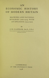 John Clapham (economic historian) British historian