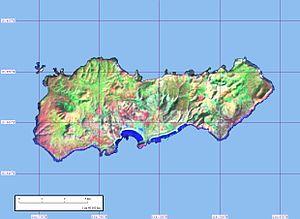Clarion Island - Clarion Island, from Landsat satellite